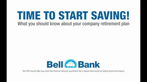 Bell Bank 2018 401(k) Video