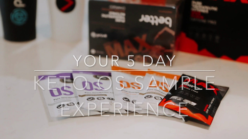 Your 5 Day Sample Experience