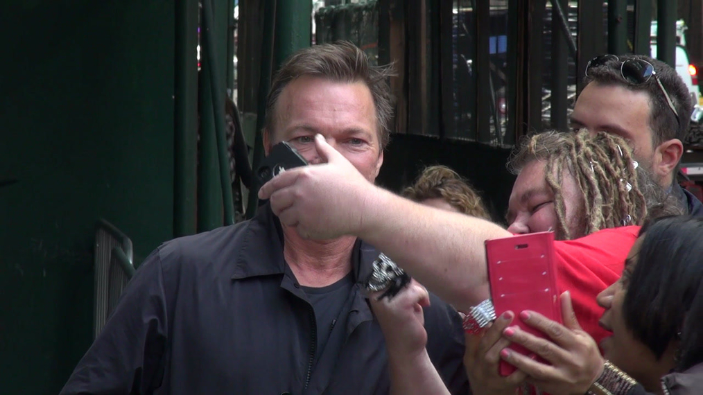 Pete Tong outside the BUILD Series in New York.mp4