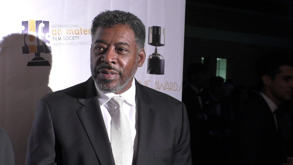 Ernie Hudson at the 44th Annual Annie Awards at Royce Hall on February 4, 2017 in Los Angeles.MP4