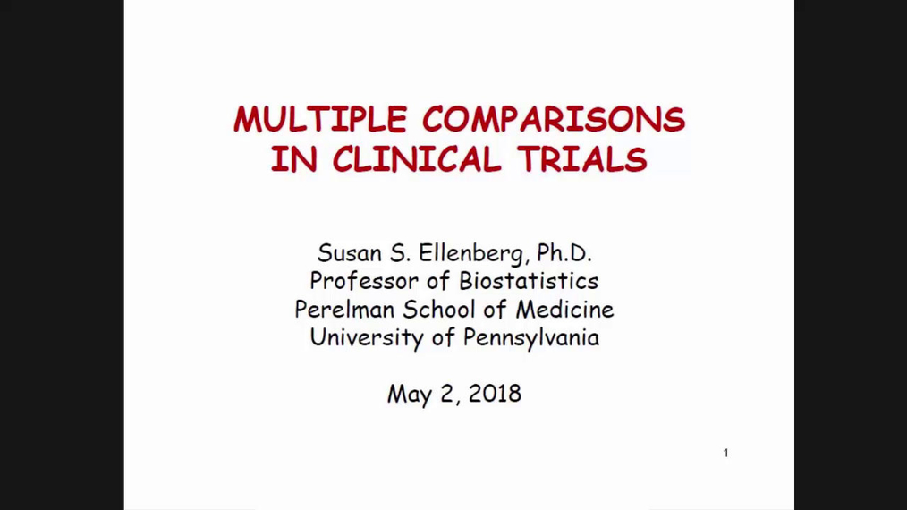 The Multiple Comparisons Problem in Clinical Trials