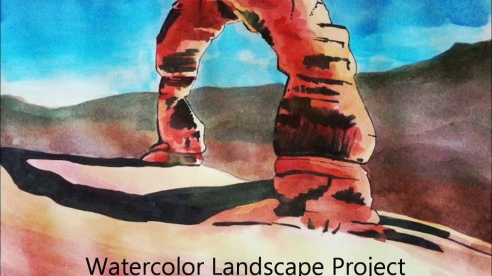 Watercolor Landscape Project.mp4