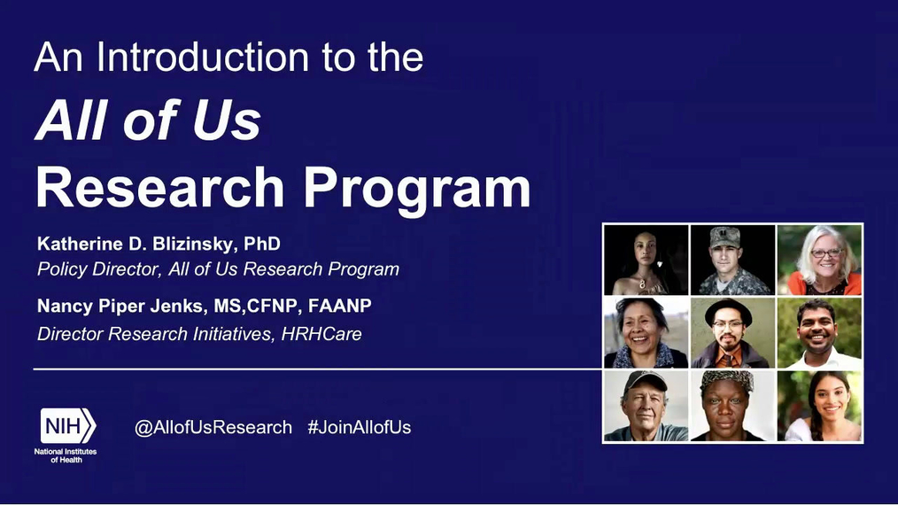 An Introduction to U.S. Precision Medicine Initiative, All of Us.2.22.18.pa.mp4