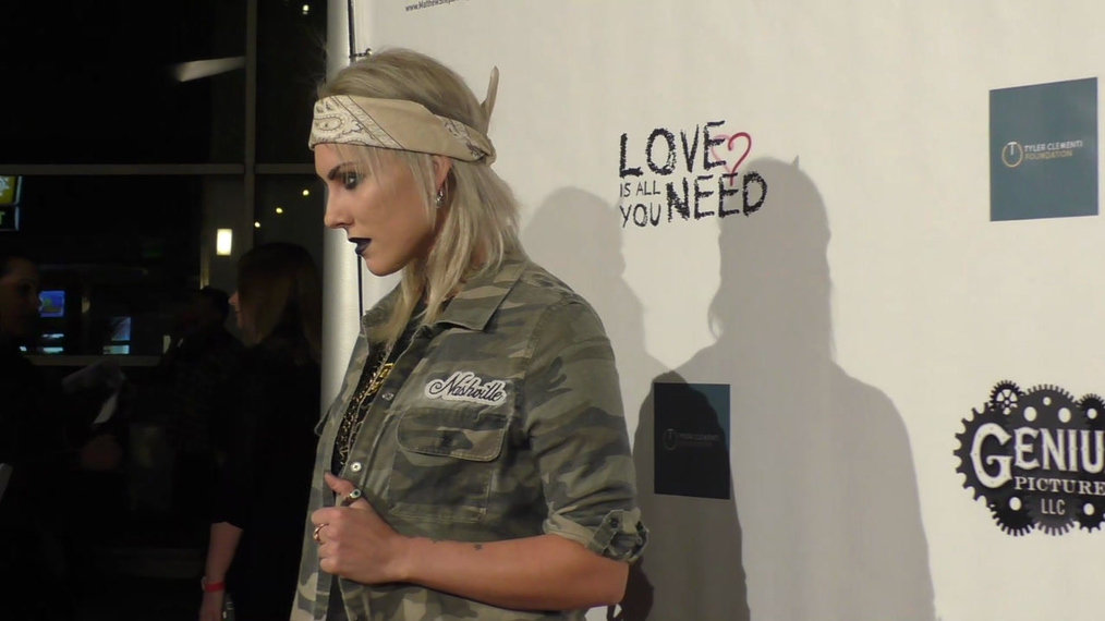 Sabrina Petrini at the Premiere Of Love Is All You Need at the ArcLight Theatre in Hollywood.mp4