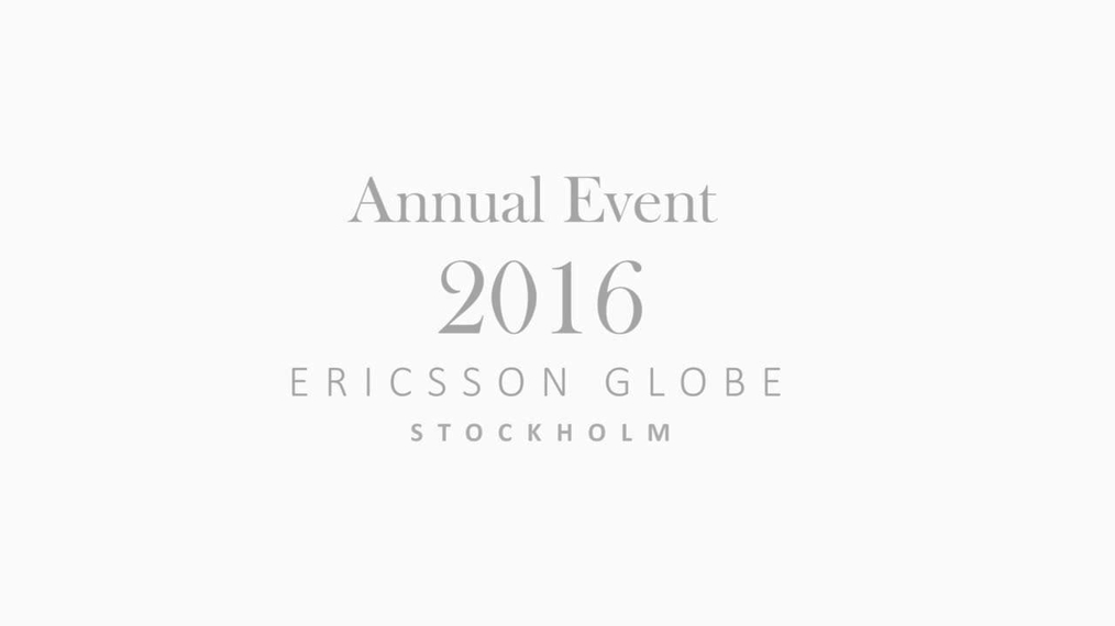 Annual Event 2016 - Join us next year!