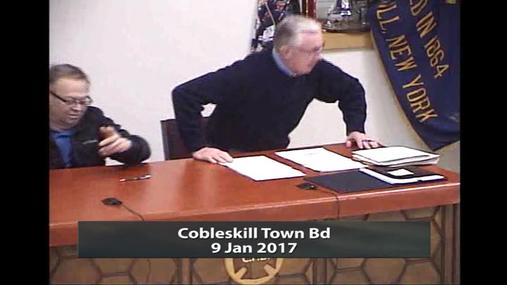 Cobleskill Town Bd -- 9 Jan 2017