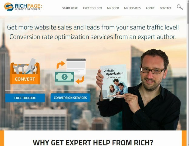 Give a live expert user review of your website to boost sales