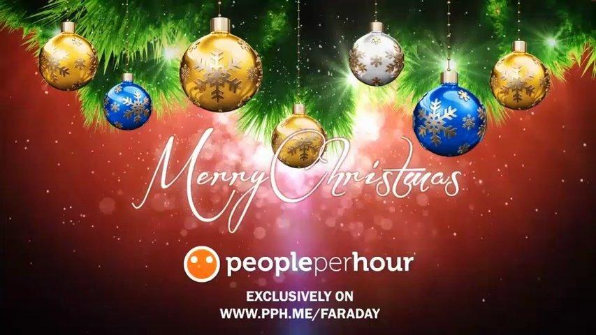 Make you 2 Christmas greeting videos