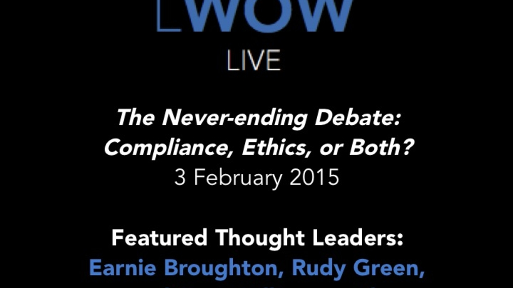 2-3-15 LWOW Live Compliance: The Never-ending Debate