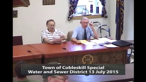 Cobleskill Town Bd Special 13 July 2015