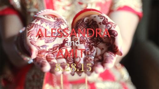 Alessandra and Amit