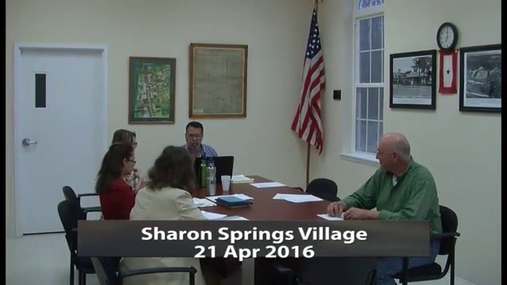 Sharon Springs Village -- Apr 21 2016