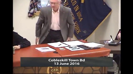Cobleskill Town Bd --13 June 2016