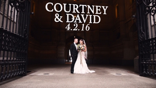 Courtney and David