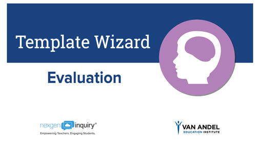 Template Wizard - Evaluation