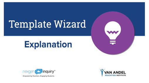 Template Wizard - Explanation