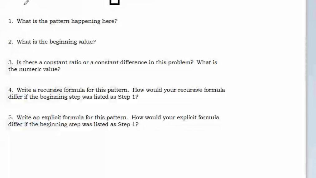 Supplemental Math Homework Help Video Sequences and Formulas.mp4