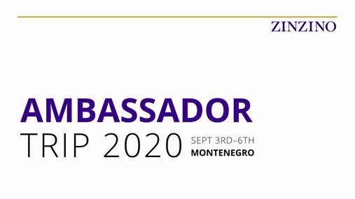 Promotion Ambassador Trip 2020