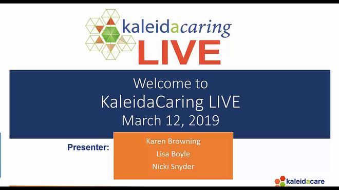 KaleidaCaring LIVE 2019-03