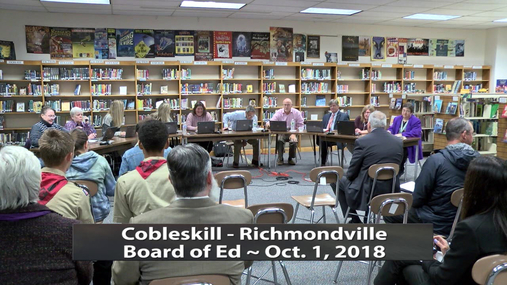 CRCS BOE -- Oct.1,2018