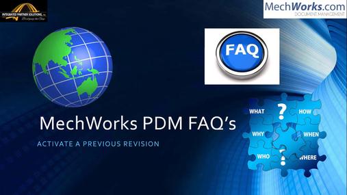 Activate Previous Revision - Part Model.mp4
