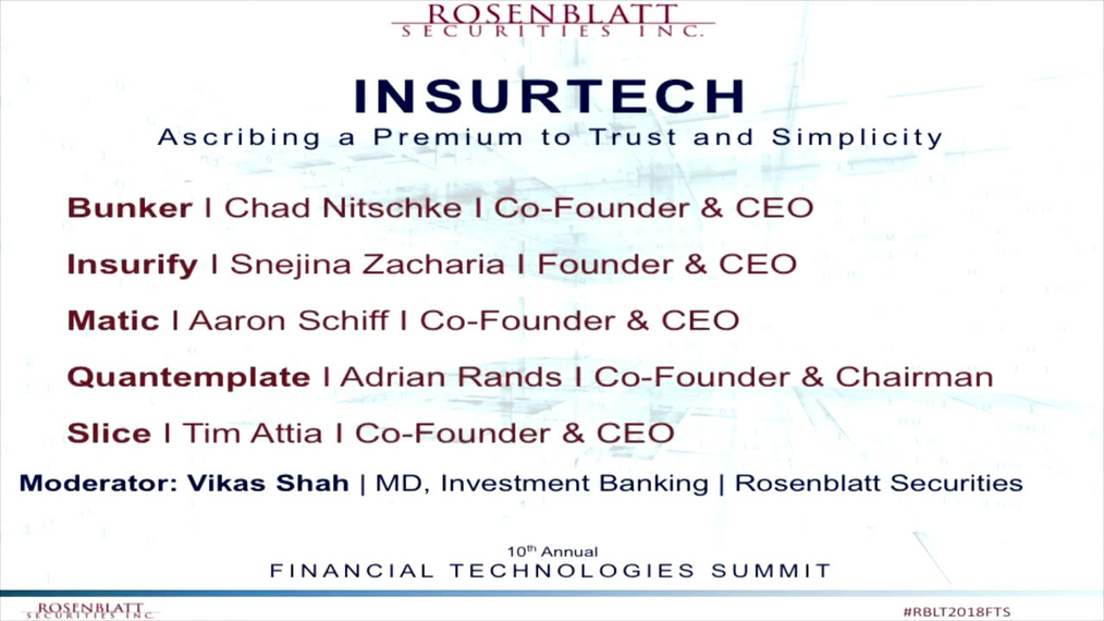 InsurTech_ Ascribing a Premium to Trust and Simplicity - Panel Discussion.mp4