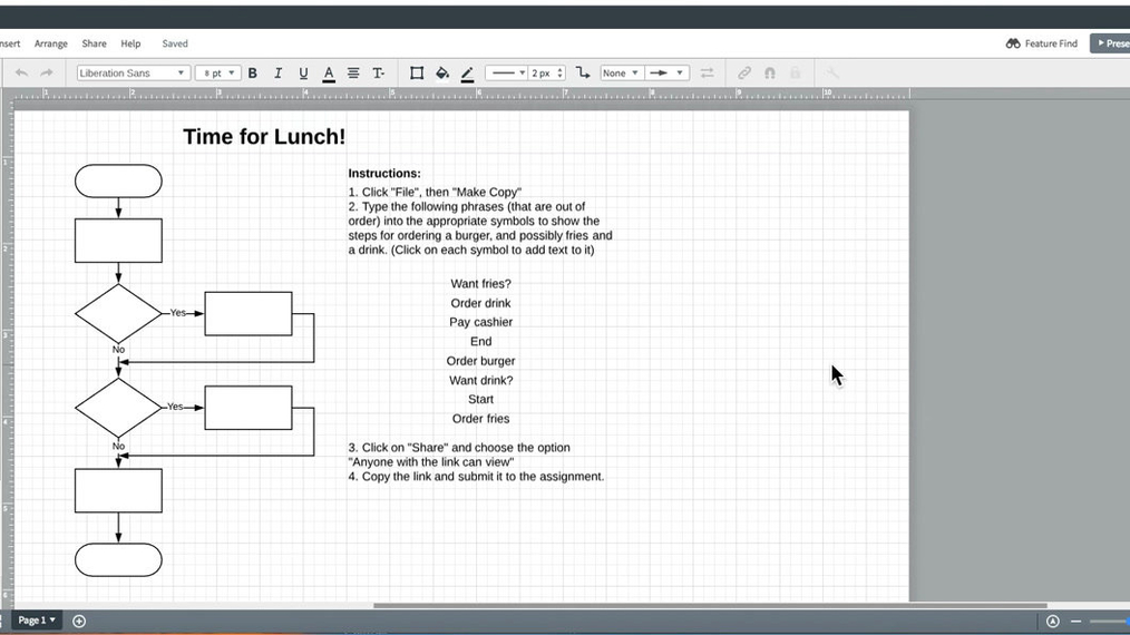 Time for Lunch Flowchart Tutorial.mp4