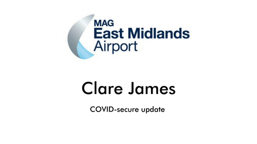 Clare James - COVID Secure Update