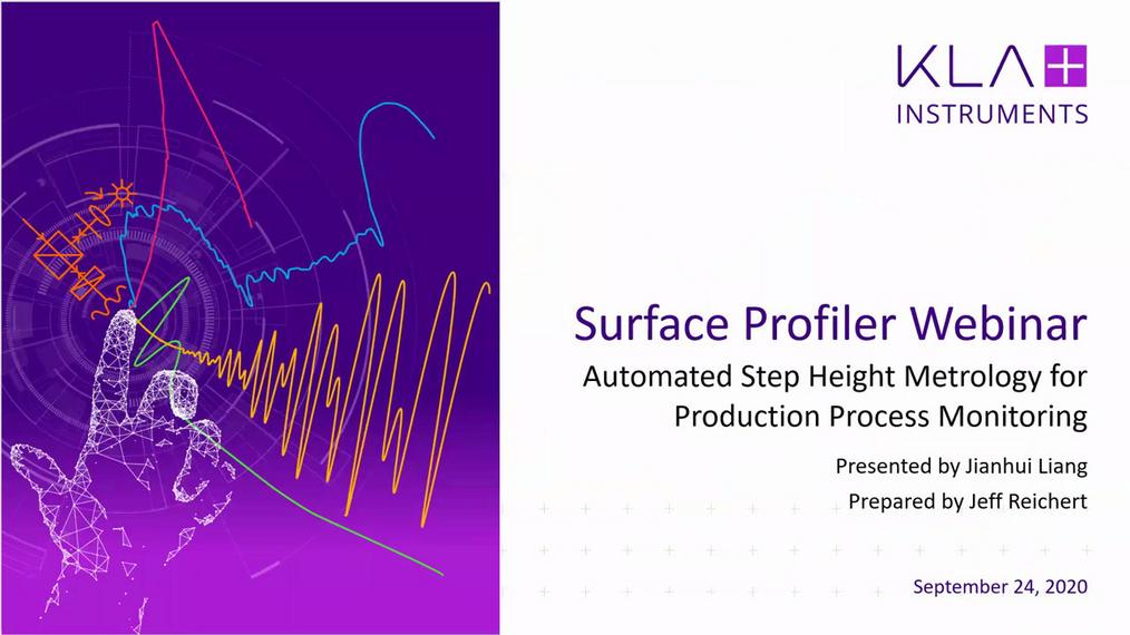 用于生产工艺监控的台阶高度自动化测量