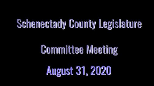 Schenectady Co Legislature  31 Aug 2020