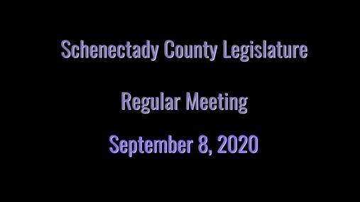 Schenectady Co Legislature Reg -- 8 Sept 2020