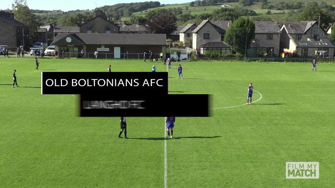 13853 Old Boltonians AFC (Black & White) v Langho FC (Maroon & Blue) 27SEP20 - Highlights.mov