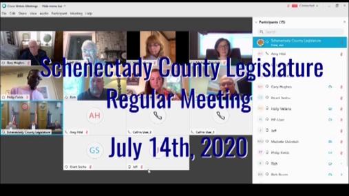 Schenectady Co Lsgislature Reg 14 July 2020