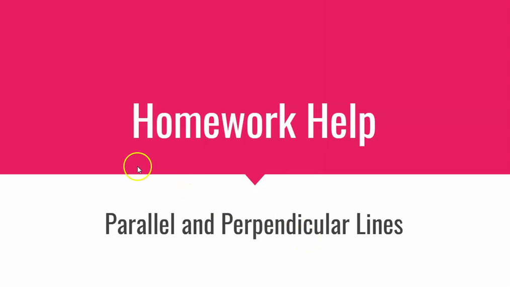 HH Parallel and Perpendicular Lines.mp4