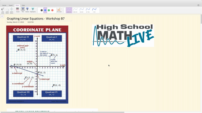 Brush Up Workshop B7 - Graphing Linear Equations.mp4