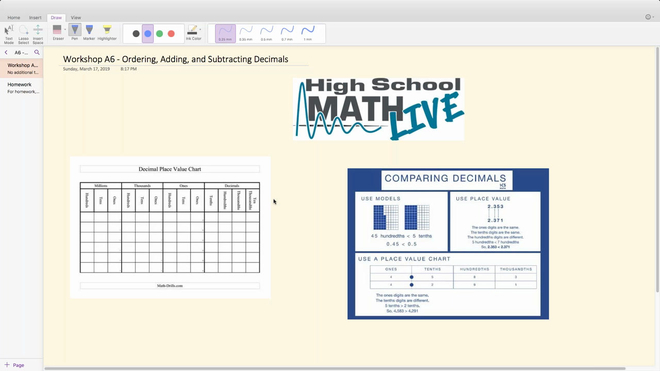 Brush Up Workshop A6 - Ordering, Adding, and Subtracting Decimals.mp4