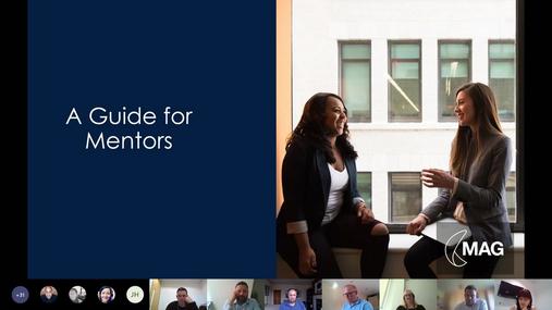 MAG Mentoring Scheme - Training for Mentors