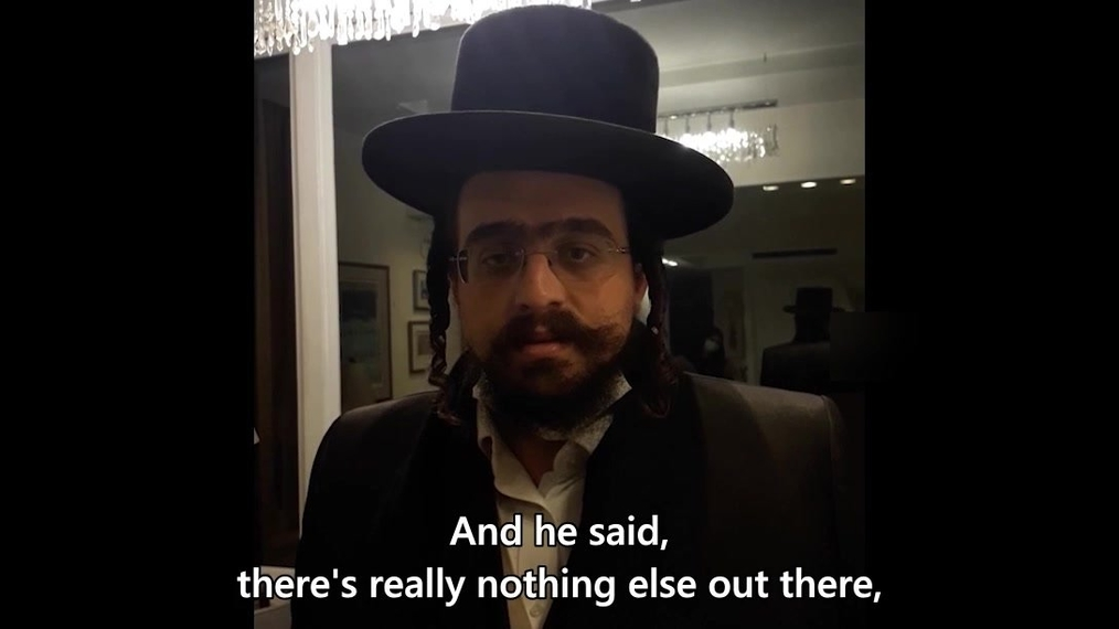 At the Shiva for Rabbi Twerski - older