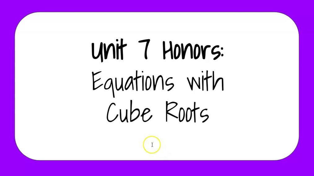 Unit 7 Honors 2.mp4