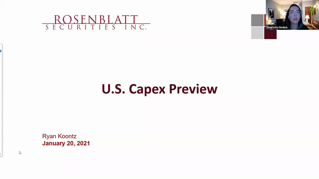 Network Traffic Webinar Capex Preview 1-20-21