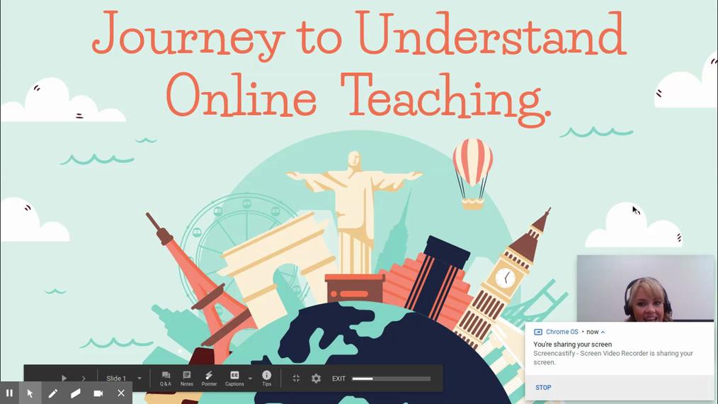 How to Be an Online Teacher