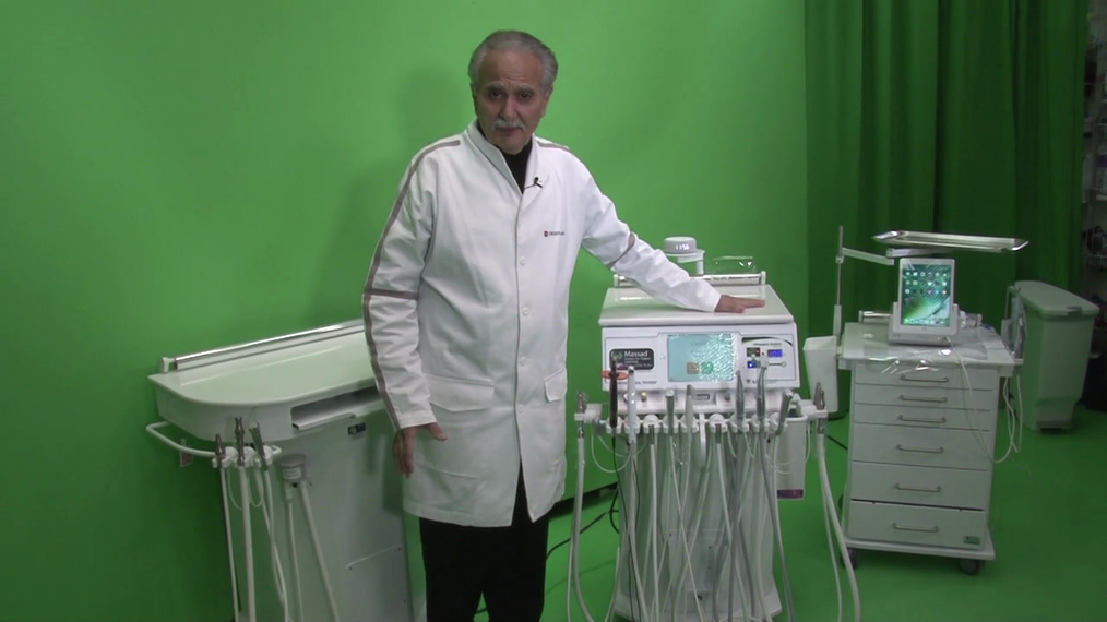 Dr. Massad Explains Benefits of his Advanced Dental Carts