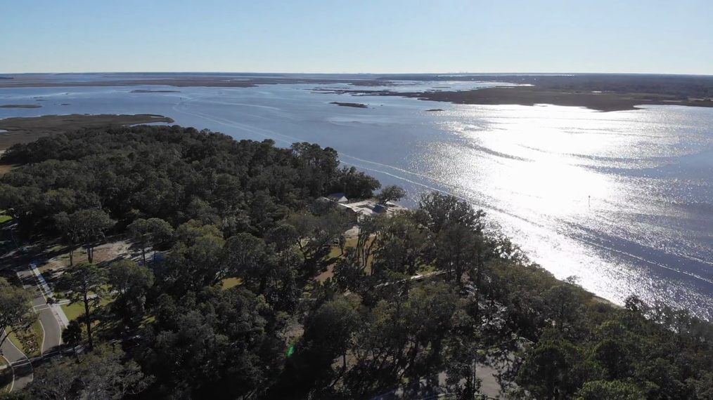 Drone Video - Southern Tip Of Crane Island