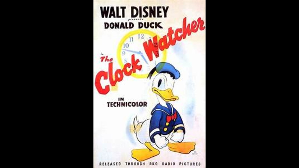 Donald Duck THE CLOCK WATCHER