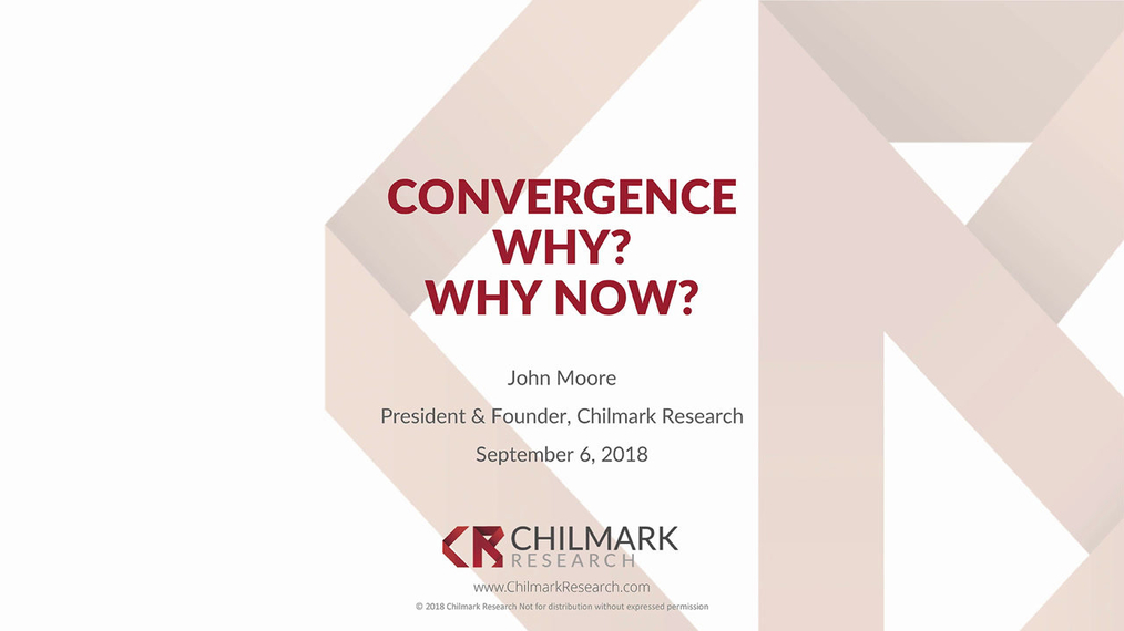 Convergence: Why Now? | Drivers of Economic Change in Healthcare