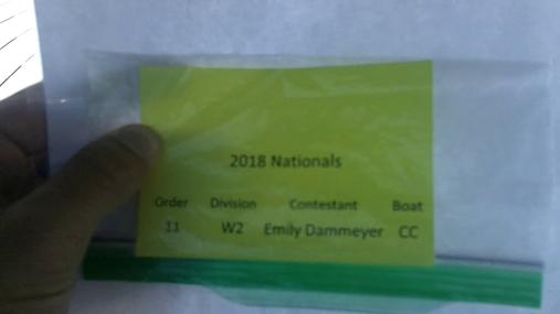 Emily Dammeyer W2 Round 1 Pass 1