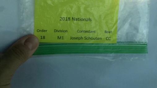 Joseph Schouten M1 Round 1 Pass 2