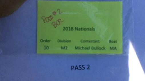Michael Bullock M2 Round 1 Pass 2
