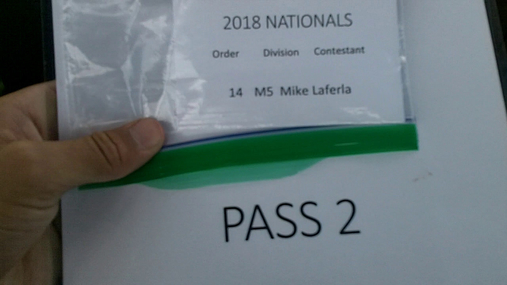 Mike Laferla M5 Round 1 Pass 2