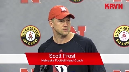 Coach Scott Frost - Full Press Conference (Aug 27, 2018)